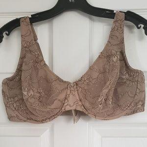 Nude lacy bra